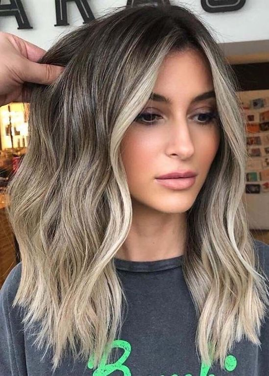 Ombre & face framing highlights
